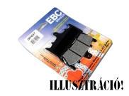 EBC FA109 Premium Aramid fékbetét garnitúra (egy féknyereghez) - hátsó