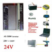 500W Inverter AE-24V-220V/500W Inverter