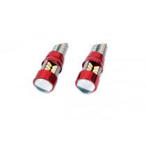 LED CANBUS 27SMD T10e (W5W) White 12V/24V 01446