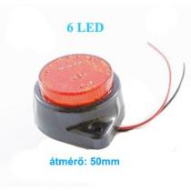 AE-LA565R 24V Szélességjelző/helyzetjelző piros