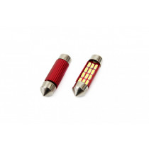 CANBUS 16SMD LED 39MM SZOFITA 12/24V 01633/01290