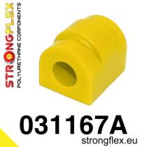 BMW E36 Strongflex Hátsó stabilizátor szilent 12-25mm SPORT sárga