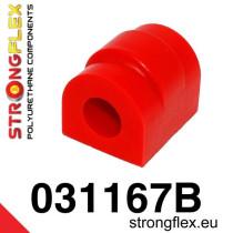 BMW E36 Strongflex Hátsó stabilizátor szilent 12-25mm SPORT piros