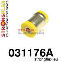 BMW E36 Strongflex Hátsó bekötőkar alsó belső szilent SPORT sárga