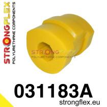 BMW E36 Strongflex Első stabilizátor szilent 19-27mm SPORT sárga