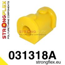 Első stabilizátor szilent 18-24 mm SPORT sárga E30 BMW Strongflex