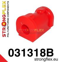 Első stabilizátor szilent 18-24 mm SPORT Piros E30 BMW Strongflex