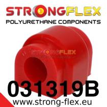 Strongflex Első stabilizátor felfüggesztő szilent 18-23mm SPORT sárga BMW E21 piros