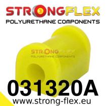 Strongflex Hátsó stabilizátor felfüggesztő szilent 15-24mm SPORT sárga BMW E21 sárga