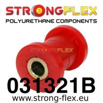 Strongflex Első alsó lengőkar belső szilent SPORT piros