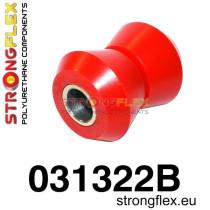 Strongflex Első alsó külső szilent 39 mm SPORT sárga BMW E21 piros
