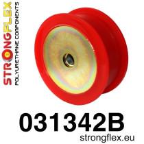Strongflex Hátsó differenciálmű felfüggesztő szilent SPORT Piros BMW E30