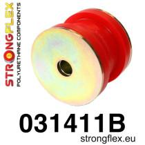 Strongflex Első alsó lengőkar hátsó szilent  SPORT piros BMW E28, E34, E32, E38