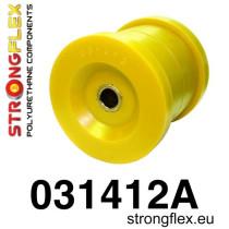 Strongflex Hátsó híd felfüggesztő szilent készlet SPORT sárga BMW E34 E32