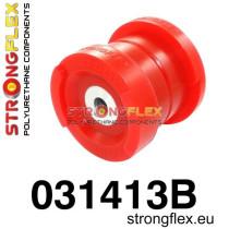 Strongflex Hátsó bölcső első  szilent SPORT Piros BMW E46