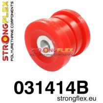 Strongflex Hátsó bölcső hátsó  szilent SPORT Piros BMW E46