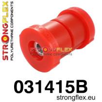 Strongflex Hátsó híd felfüggesztő szilent SPORT piros BMW E36 Compact, Z3