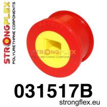 Strongflex Első lengőkar hátsó szilent 66mm Sport piros BMW E46