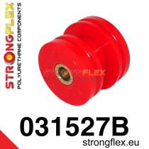 Hátsó lengéscsillapító felső felfüggesztő szilent SPORT piros