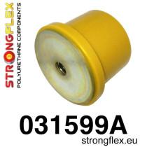 Hátsó differenciálmű hátsó felfüggesztő szilent SPORT sárga