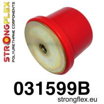 Hátsó differenciálmű hátsó felfüggesztő szilent SPORT piros