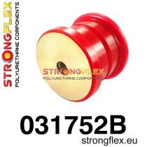 Strongflex Hátsó differenciálmű felfüggesztő hátsó szilent SPORT Piros BMW E46
