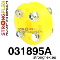 Strongflex Kormányoszlop összekötő betét sárga BMW E30