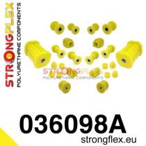 Strongflex Teljes felfüggesztés szilent készlet SPORT sárga BMW E21