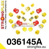 Strongflex Teljes felfüggesztés szilent készlet SPORT BMW E46 Strongflex