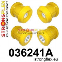 Strongflex Hátsó bölcső hátsó  szilent SPORT Sárga BMW E90/E91/E92/E93