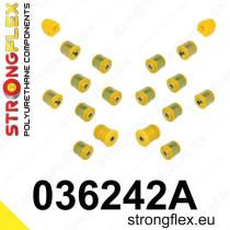 Strongflex Hátsó felfüggesztés szilent készlet SPORT BMW 1 - E81 E82 E87 E88 BMW 3 - E90 E91 E92 E93