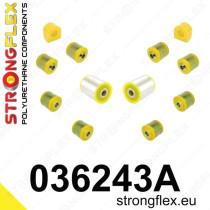 Strongflex Hátsó felfüggesztés szilent készlet SPORT BMW M1 E82 BMW M3 E90/E92/E93