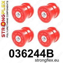 Strongflex Hátsó bölcső szilent készlet BMW X5 E53 99-06