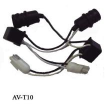 Átalakító CANBUS kábel AV-T10/LED/KABEL