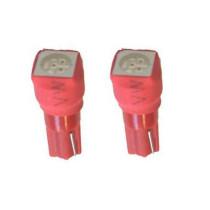 T5 piros műszerfal LED izzó SMD-T5/1/5050SMD/RED