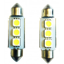 3SMD LED 39mm-es Szofita SMD-10X39-3SMD