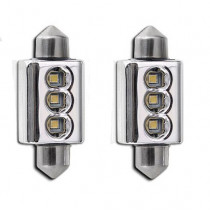 II CANBUS HIGH POWER 3SMD LED 39mm-es Szofita Nagy Fényerejű SMD-PL-3W*39MM