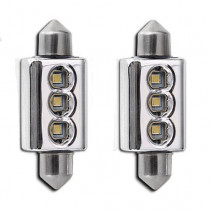 II CANBUS HIGH POWER 3SMD LED 42mm-es Szofita Nagy Fényerejű SMD-PL-3W*42MM