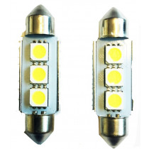 CANBUS 3SMD LED 39mm-es Szofita SMD-LA513C-39MM