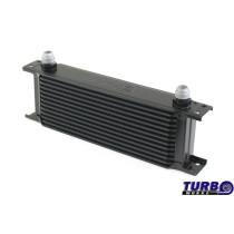Olajhűtő TurboWorks 13-soros 260x100x50 AN10 Fekete