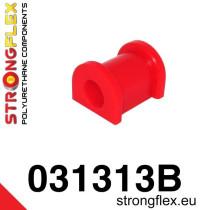 Strongflex Hátsó stabilizátor felfüggesztő szilent 12-19mm SPORT piros BMW