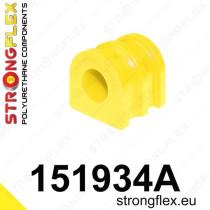 Strongflex Első stabilizátor szilent SPORT Nissan Micra K12 02-10 Note E11 06-12 Tiida I 04-12