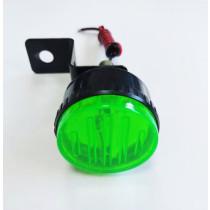 Kiegészítő villogó Stroboszkóp zöld FL-SL07G LED