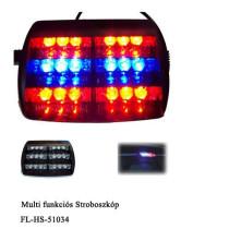 Stroboszkóp Piros-Kék FL-WS-51034RB