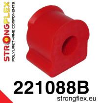 Első stabilizátor szilent 15-23 mm SPORT piros