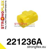 Első stabilizátor szilent 18-24 mm sárga  Audi 50 74-78, Volkswagen Derby, Volkswagen Polo I, II 75-94