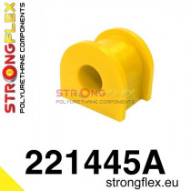 Hátsó stabilizátor szilent SPORT sárga  Audi 80 & 90 B2 B3 B4 Volkswagen Passat B2 80-88
