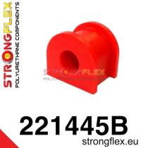 Hátsó stabilizátor szilent SPORT piros  Audi 80 & 90 B2 B3 B4 Volkswagen Passat B2 80-88