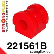 Stongflex Első stabilizátor szilent SPORT piros