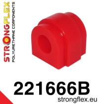 Hátsó stabilizátor szilent SPORT piros